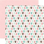Echo Park - Bundle of Joy Collection - Girl - 12 x 12 Double Sided Paper - Newborn
