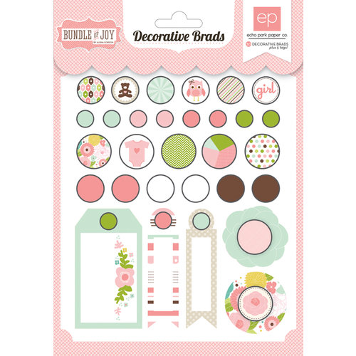 Echo Park - Bundle of Joy Collection - Girl - Brad Assortment
