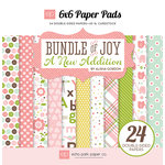 Echo Park - Bundle of Joy New Addition Collection - Girl - 6 x 6 Paper Pad