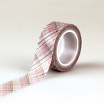 Echo Park - Bundle of Joy New Addition Collection - Girl - Decorative Tape - Plaid
