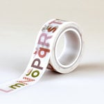 Echo Park - Bundle of Joy New Addition Collection - Girl - Decorative Tape - Alphabet