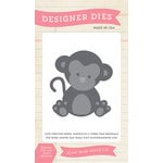 Echo Park - Bundle of Joy New Addition Collection - Girl - Designer Dies - Monkey