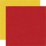 Echo Park - Bark Collection - 12 x 12 Double Sided Paper - Red