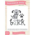 Echo Park - Bark Collection - Designer Dies - Dog Bark