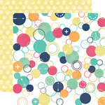 Echo Park - Creative Agenda Collection - 12 x 12 Double Sided Paper - Circles