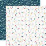 Echo Park - Creative Agenda Collection - 12 x 12 Double Sided Paper - Positively