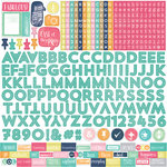 Echo Park - Creative Agenda Collection - 12 x 12 Cardstock Stickers - Alphabet