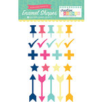 Echo Park - Creative Agenda Collection - Enamel Shapes