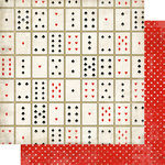 Carta Bella Paper - Well Played Collection - 12 x 12 Double Sided Paper - Card Games