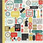 Carta Bella Paper - Well Played Collection - 12 x 12 Cardstock Stickers - Elements