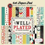 Carta Bella Paper - Well Played Collection - 6 x 6 Paper Pad