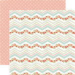 Carta Bella - Rustic Elegance Collection - 12 x 12 Double Sided Paper - Chevron