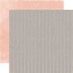 Carta Bella - Rustic Elegance Collection - 12 x 12 Double Sided Paper - Gray Stripe