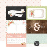 Carta Bella - Rustic Elegance Collection - 12 x 12 Double Sided Paper - 4 x 6 Journaling Cards