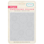 Carta Bella - Travel Stories Collection - Embossing Folders - Doilies