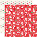 Echo Park - Christmas Cheer Collection - 12 x 12 Double Sided Paper - Ho Ho Ho
