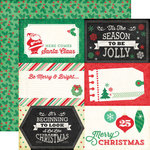Echo Park - Christmas Cheer Collection - 12 x 12 Double Sided Paper - 4 x 6 Journaling Cards