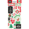 Echo Park - Christmas Cheer Collection - Chipboard Stickers