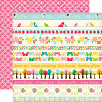 Echo Park - Country Drive Collection - 12 x 12 Double Sided Paper - Border Strip