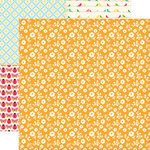 Echo Park - Country Drive Collection - 12 x 12 Double Sided Paper - Sundress