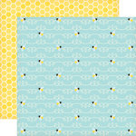 Echo Park - Country Drive Collection - 12 x 12 Double Sided Paper - Bee's Knees