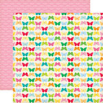 Echo Park - Country Drive Collection - 12 x 12 Double Sided Paper - Flutter By