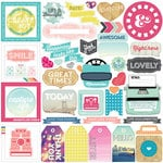 Echo Park - Capture Life Collection - 12 x 12 Cardstock Stickers - Elements