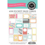 Echo Park - Capture Life Collection - 4 x 6 Journal Card Pack