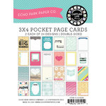 Echo Park - Capture Life Collection - 3 x 4 Journal Card Pack