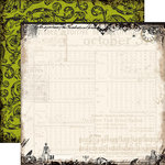 Echo Park - Chillingsworth Manor Collection - Halloween - 12 x 12 Double Sided Paper - Timeless Cobwebs