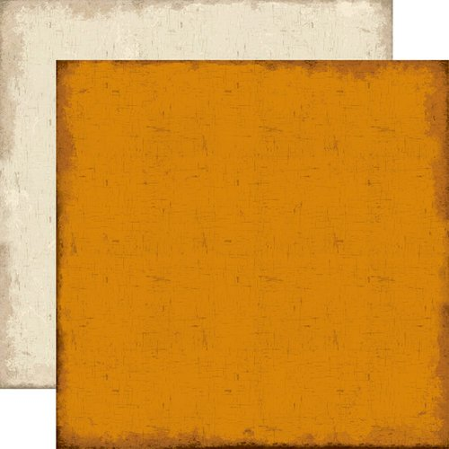 Echo Park - Chillingsworth Manor Collection - Halloween - 12 x 12 Double Sided Paper - Orange