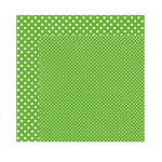 Echo Park - Dots and Stripes Collection - Christmas - 12 x 12 Double Sided Paper - Pine
