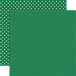 Echo Park - Dots and Stripes Collection - Christmas - 12 x 12 Double Sided Paper - Ivy