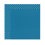Echo Park - Dots and Stripes Collection - Winter - 12 x 12 Double Sided Paper - Arctic