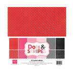Echo Park - Dots and Stripes Collection - Valentine - 12 x 12 Collection Kit