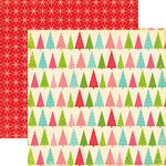 Echo Park - Everybody Loves Christmas Collection - 12 x 12 Double Sided Paper - Trim the Tree, CLEARANCE