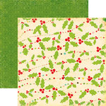 Echo Park - Everybody Loves Christmas Collection - 12 x 12 Double Sided Paper - Garland, CLEARANCE