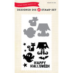 Echo Park - Fall - Halloween - Designer Die and Clear Acrylic Stamp Set - Witch's Brew