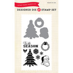Echo Park - Christmas - Designer Die and Clear Acrylic Stamp Set - Classic Christmas