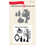 Echo Park - Designer Die and Clear Acrylic Stamp Set - Apothecary