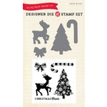Echo Park - Christmas Cheer Collection - Designer Die and Clear Acrylic Stamp Set