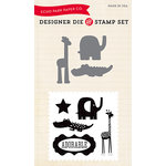 Echo Park - Designer Die and Clear Acrylic Stamp Set - Little Man