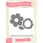 Echo Park - Fine and Dandy Collection - Designer Dies - Flower Set 2