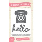 Echo Park - Everyday Collection - Designer Dies - Phone Home