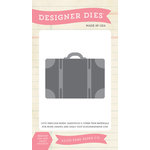 Echo Park - Everyday Collection - Designer Dies - Suitcase