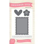 Echo Park - Everyday Collection - Designer Dies - Postage Stamp Set