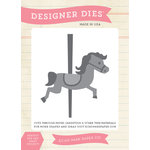 Echo Park - Children Collection - Designer Dies - Merry-Go-Round Horse