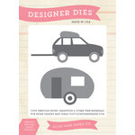 Echo Park - Summer Collection - Designer Dies - Car and Camper