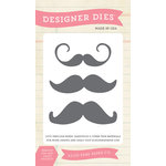 Echo Park - Everyday Collection - Designer Dies - Moustache Set