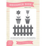 Echo Park - Spring Collection - Designer Dies - Spring Fenceline